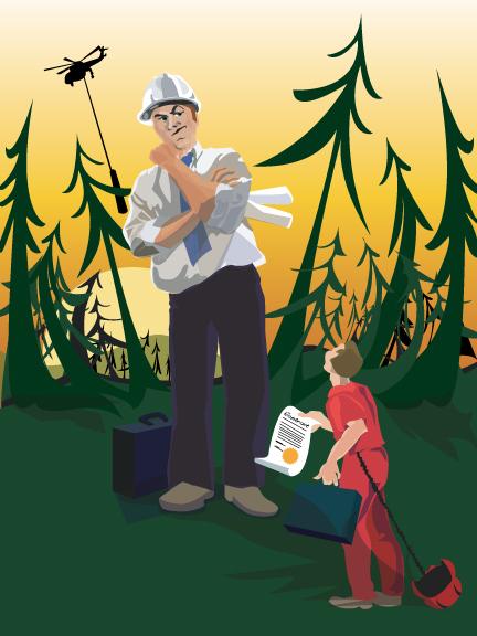 Logging the Little Man | Jarman