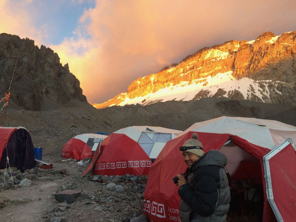 Basecamp on Aconcagua via the 360 route