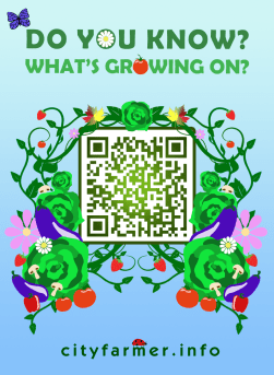8. Jaime Gervais: What's growing on? QR Poster
