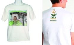 19. Sarah Mortimer: Vancouver Demonstration Garden T-Shirt and Logo