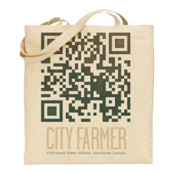 2. Madison Tuff: QR Garden Canvas Bag