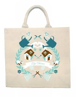 16. Mariko Whitley: Canvas Bag