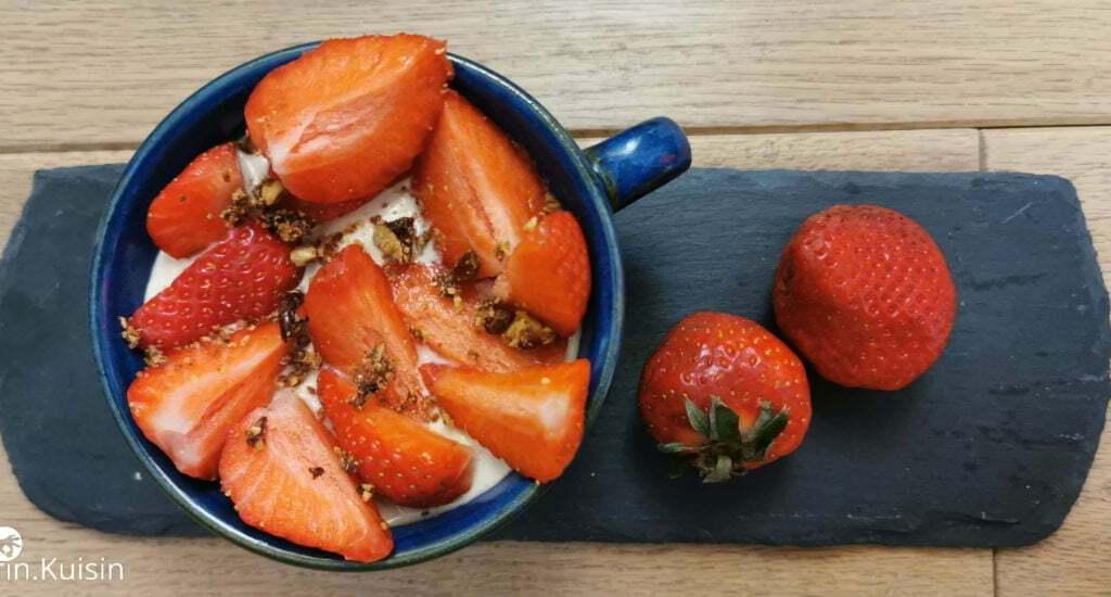 yaourt final fraise