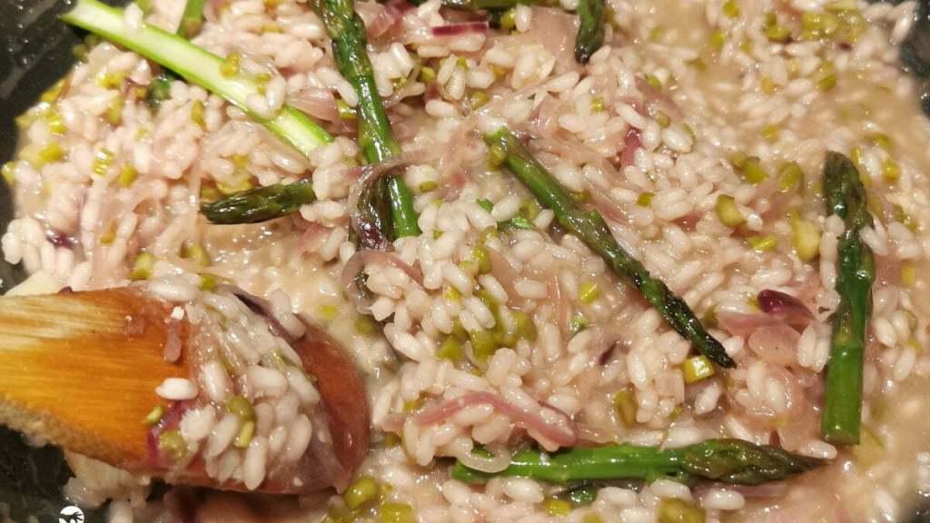 risotto cuisson mélanger