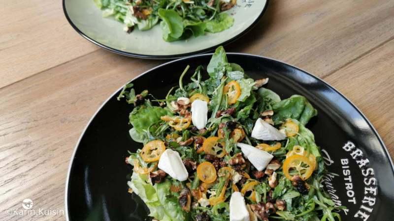 salade chèvre roquette kumquat noix final