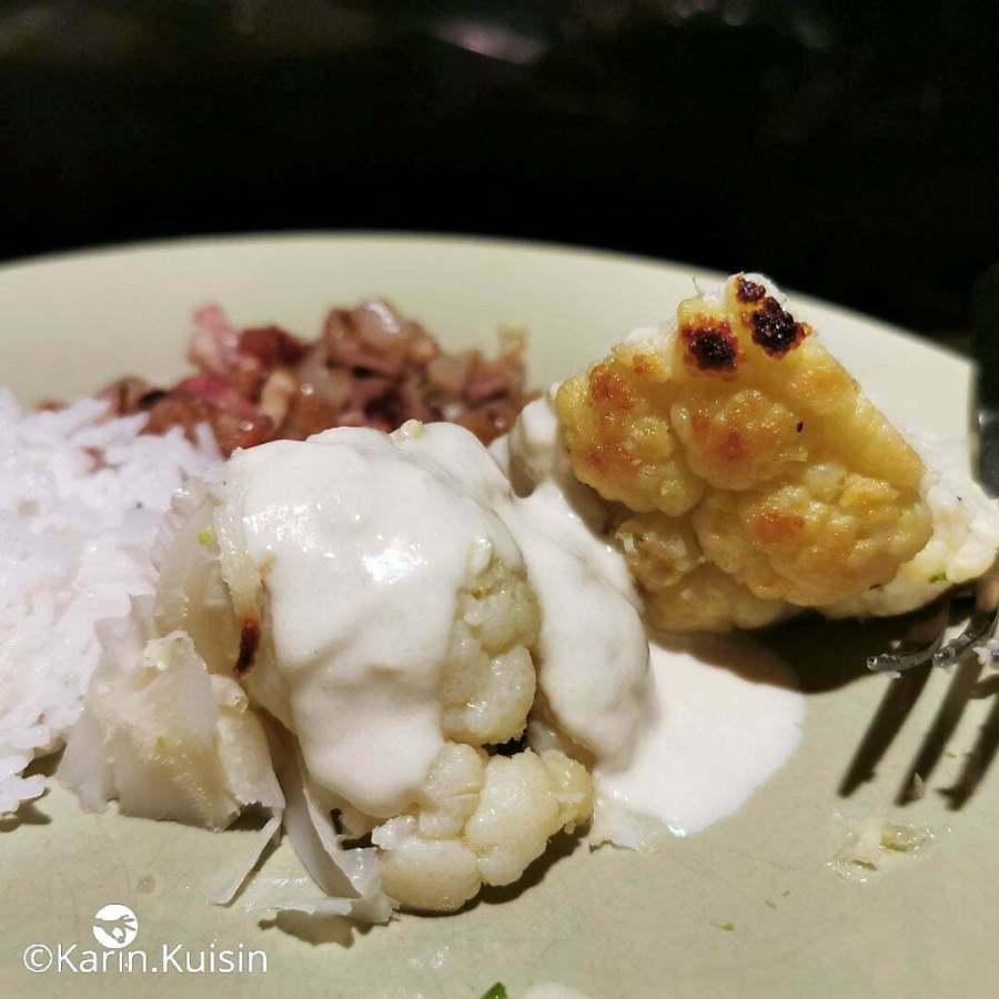 chou-fleur sauce tahina