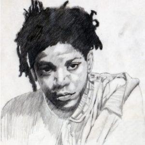Basquiat-portret