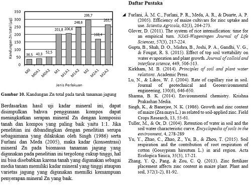 contoh daftar pustaka dalam format paper