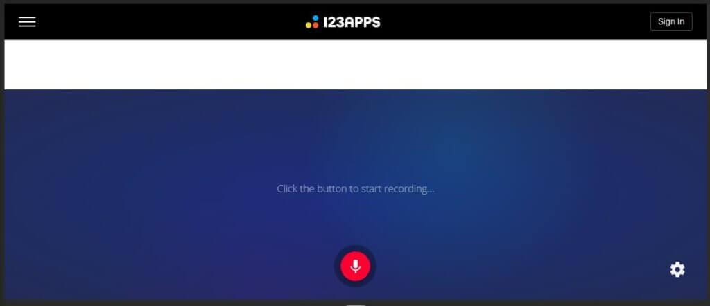 Aplikasi Online Voice Recorder