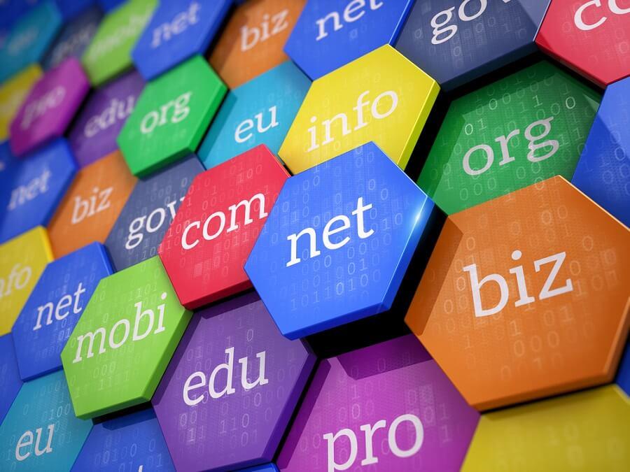 Domain Names Internet And Web Telecommunication Concept