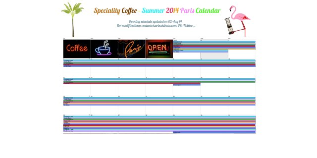 paris-2014-summer-speciality-coffee-calendar