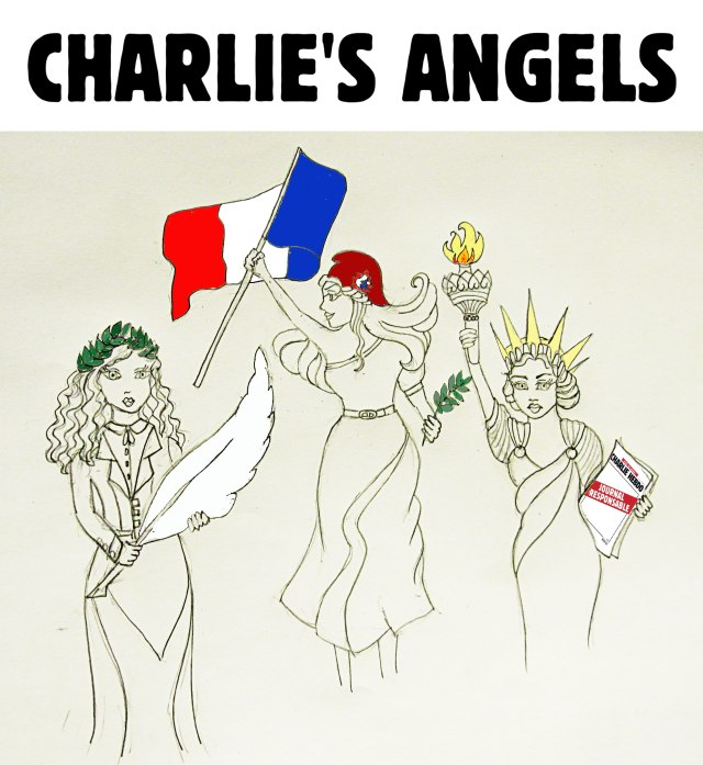 hommage_charlies_angels_tribute_charlie_hebdo_freedom_press_jesuischarlie_cartoon_dessin_illustration_caricature_comic_honore_cabu_charb_wolinski_tignous_paris_2015_karin_shibata_3