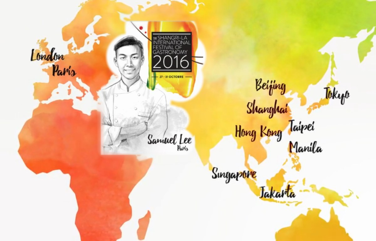 Shangri-La International Festival of Gastronomy | 25-31 Octobre 2016