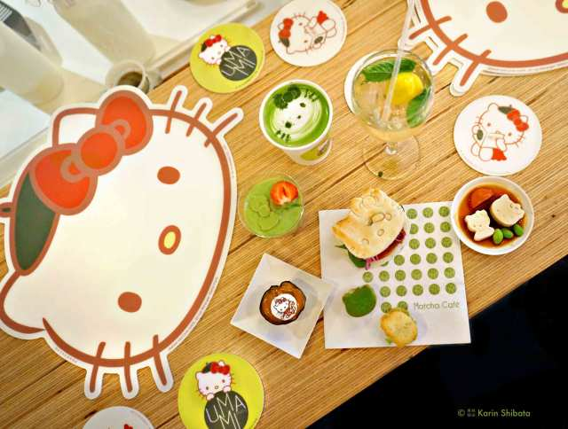 umami matcha cafe x hello kitty 7