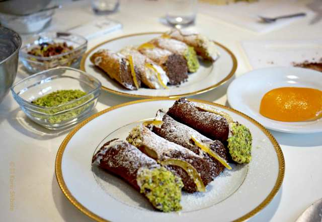 Cannoli Siciliani Sara Rania Paris 6