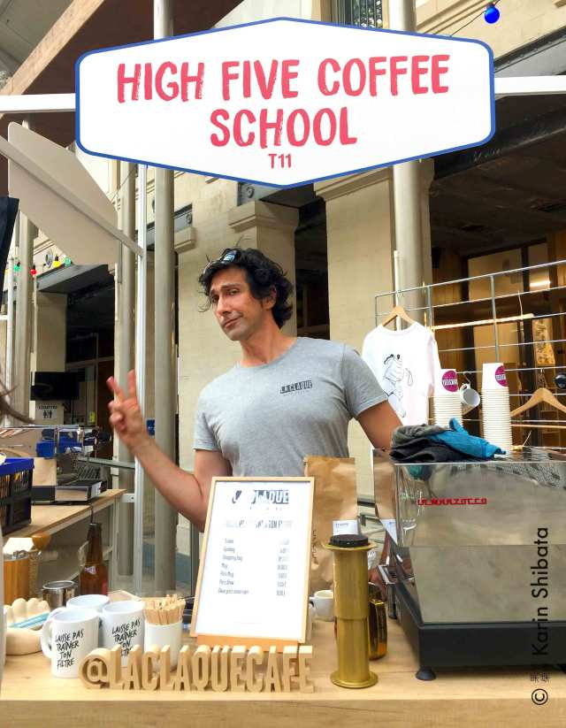 emmanuel buschiazzo la claque high five coffee school