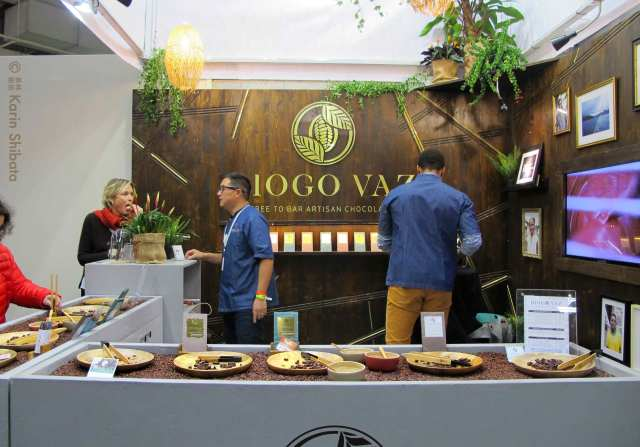 salon du chocolat 2019 diogo vaz tree to bar sao tome et principe