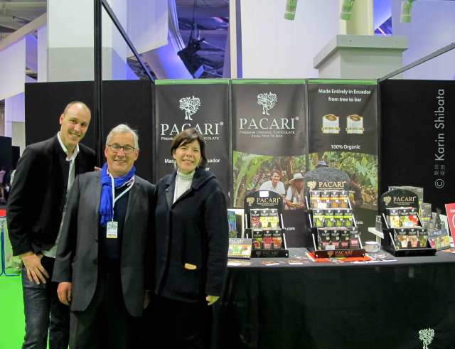 salon du chocolat 2019 pacari chocolate organic tree to bar