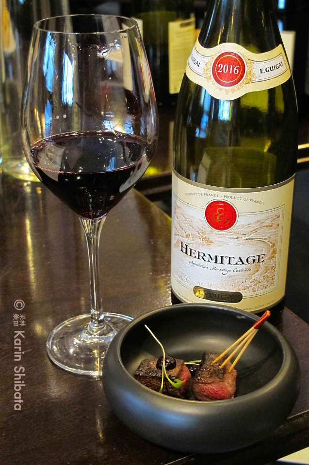 maison e guigal hermitage 2016 rouge