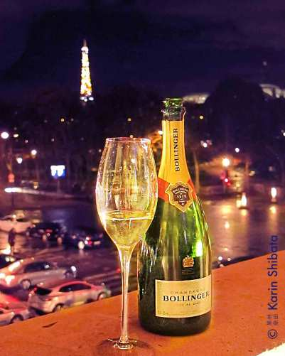 Bollinger x James Bond 007 hotel crillon party 2