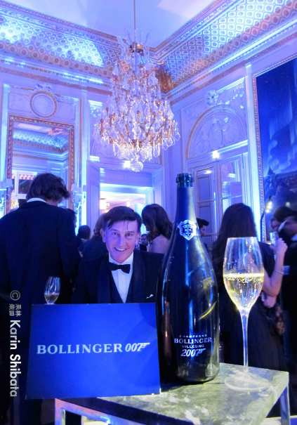 Bollinger x James Bond 007 hotel crillon party 4