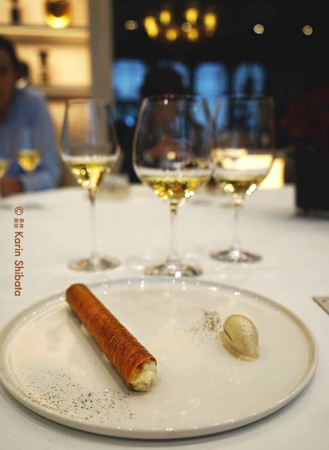 Champagne Tasting Palmer Grands Terroirs 2003 christian le squer le cinq four seasons hotel george v 10