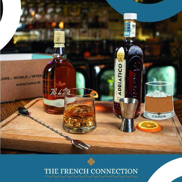 camus cognac the french connection kit 6
