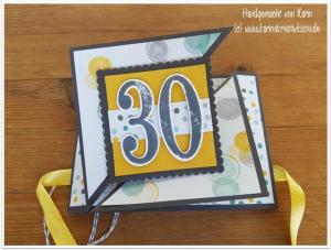 K800_Geburtstag 30 Geldgeschenkkarte Triangle Tri Fold (6)