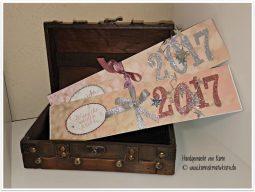 Neujahrskarten mit WZ