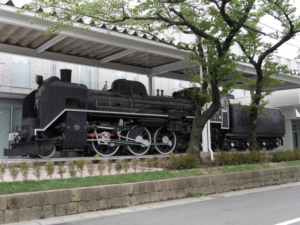一関文化センターに展示されているC58蒸気機関車