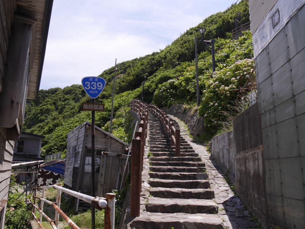 階段が始まります