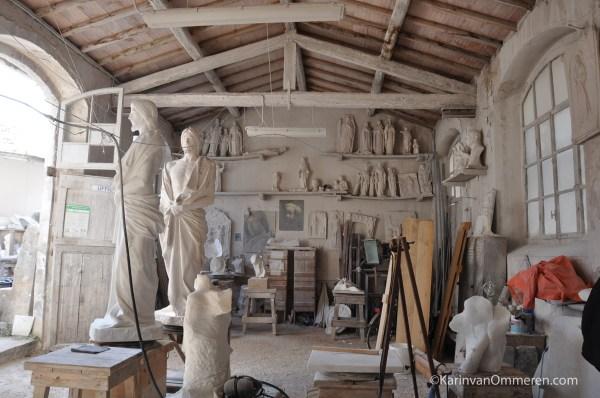 Pietrasanta Italy City Of Art Karin Van Ommeren Sculptor