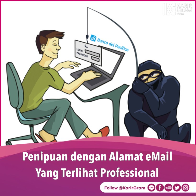 email scams penipuan