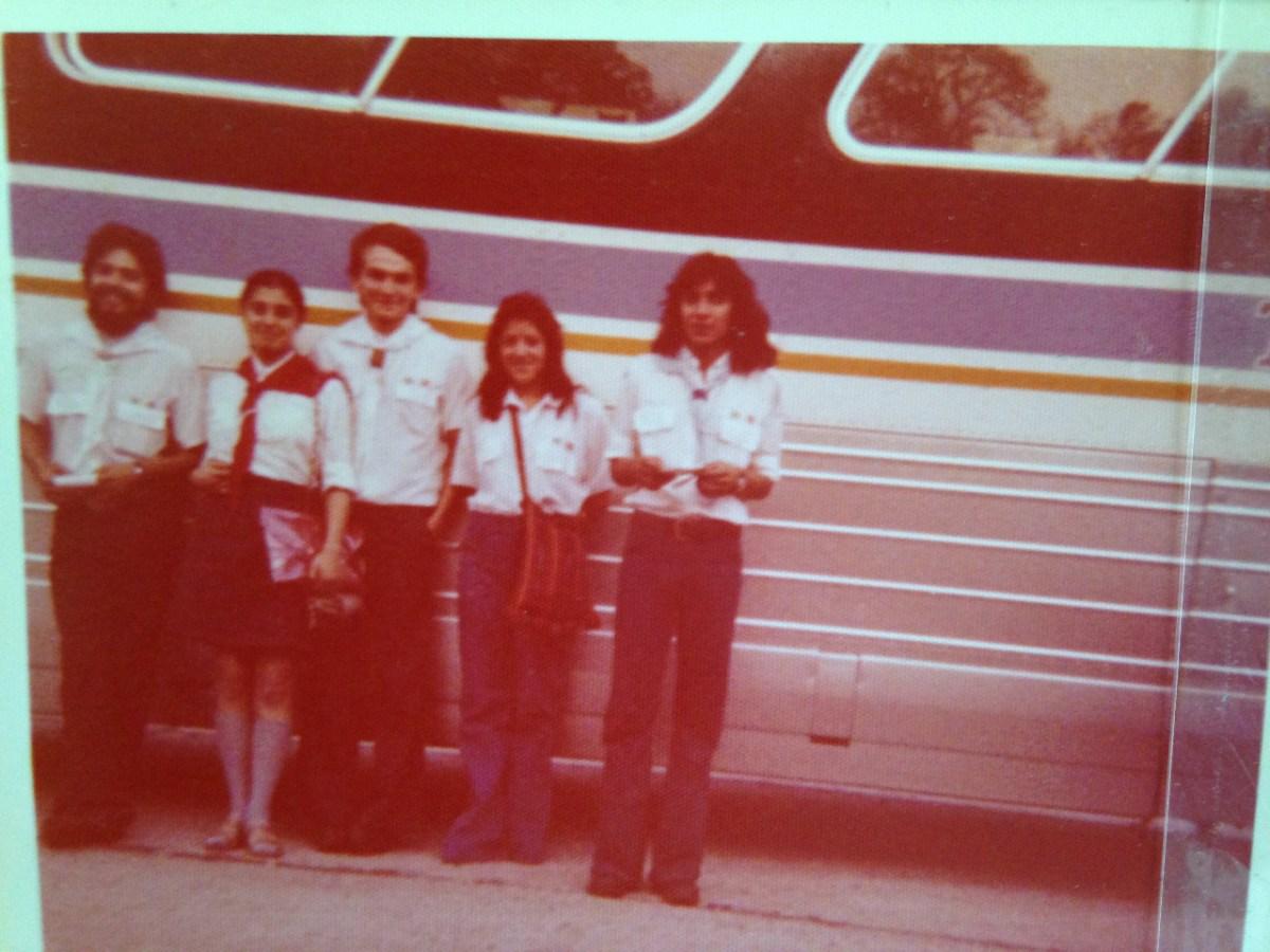 1A GIRA POR CENTROAMERICA 1977