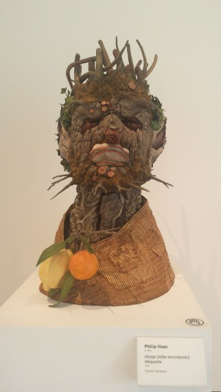 Winter (After Arcimboldo) Maquette by Philip Haas (2010)