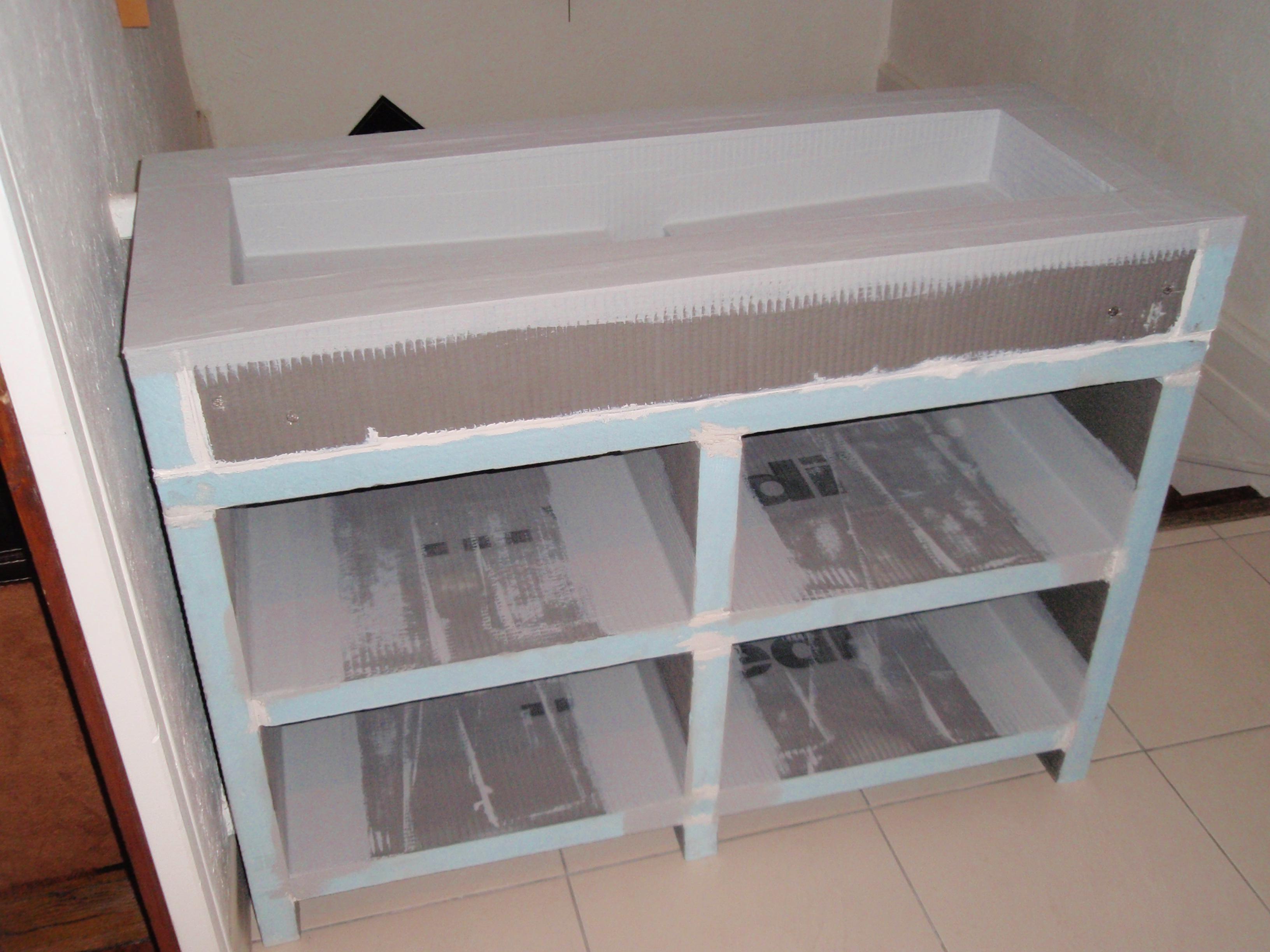 Fabriquer Meuble Salle De Bain Wedi Image Sur Le Design Maison