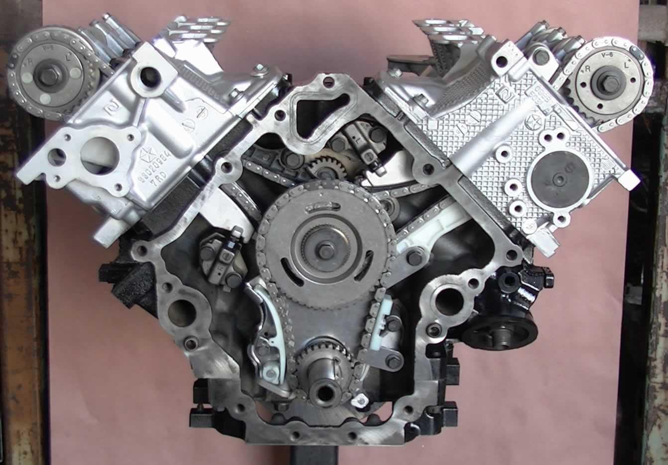 2008 Jeep Grand Cherokee V6 Engine