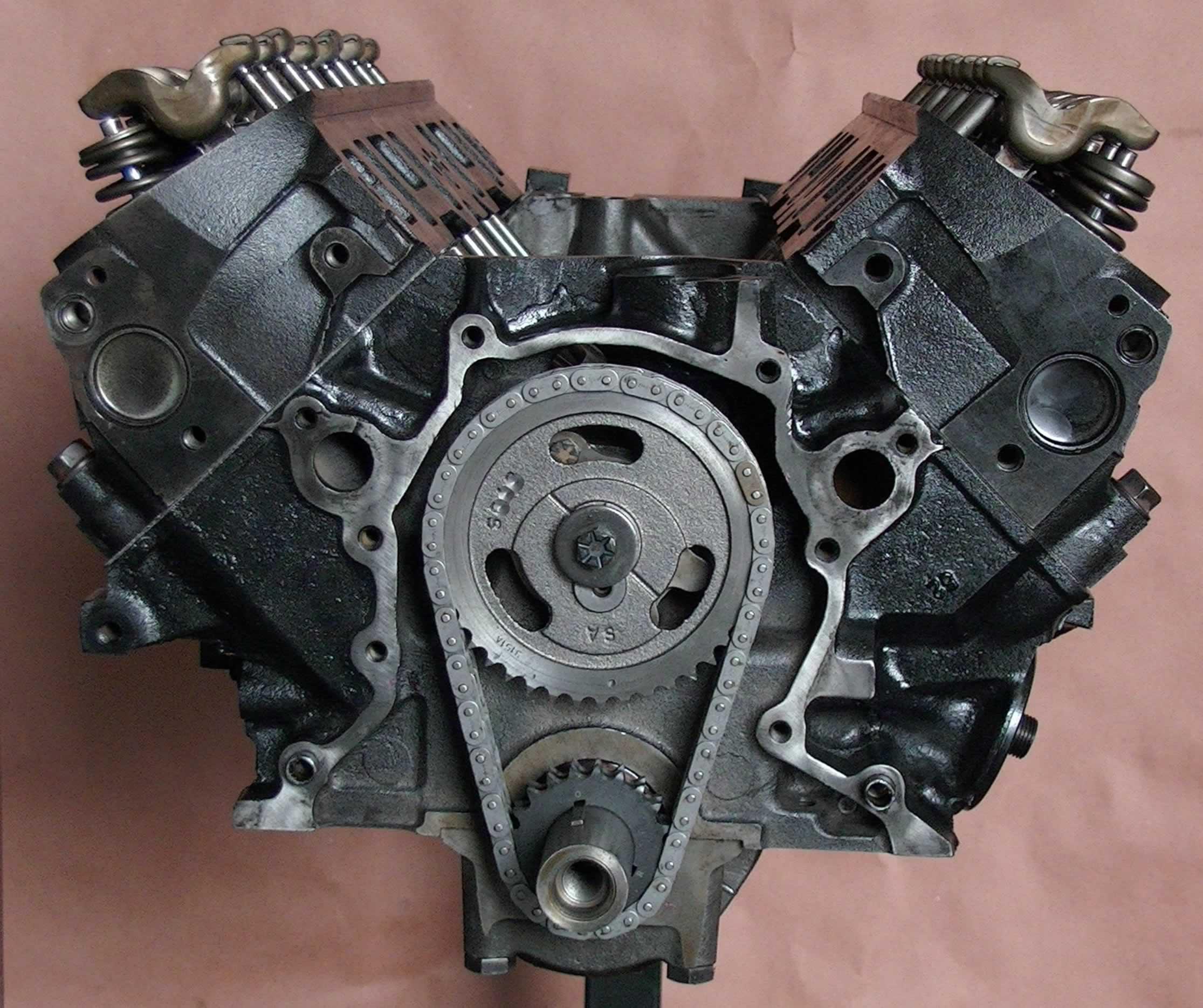Ford E250 Engine