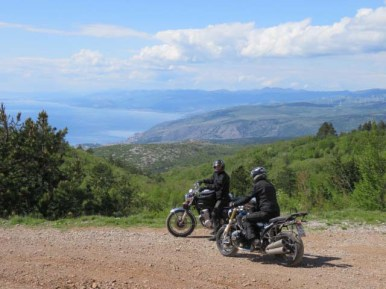 Die Gebrüder Haupt in Kroatien