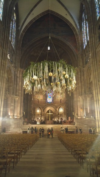 Interior of Strasbourg Cathedral (Strasbourg, France)