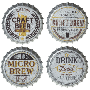 Craft Bottle Caps Wall Decor