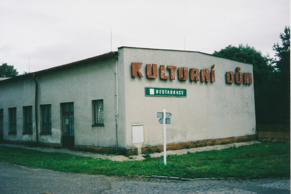 """My first meal in the Czech republic was a long awaited fried cheese with chips and tartar sauce. I digested it in """"Kulturní dum"""" (Culture house) in the little village Rybniště."""