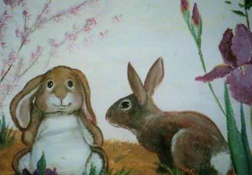 Murals  Velveteen Rabbit