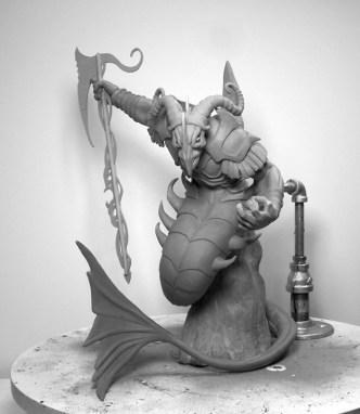 Capricorn Concept Sculpture