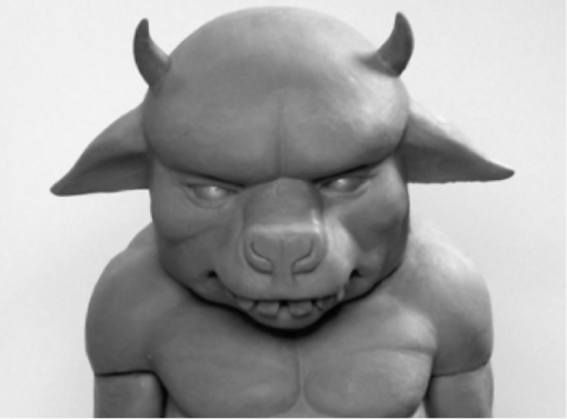 Bull from Where the Wild Things Are