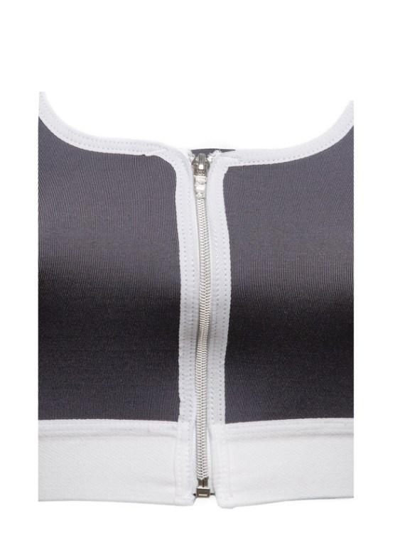 Post op bra zipper detail by Karlee Smith