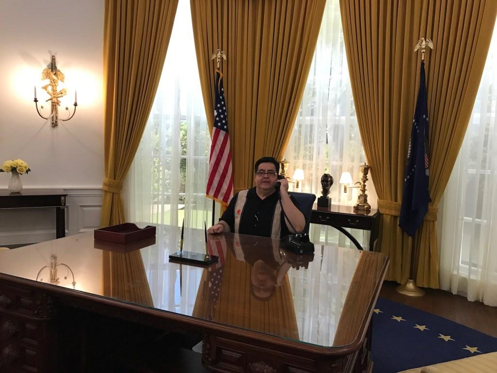Oficina Oval del Presidente Nixon