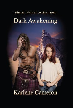 Karlene Cameron romantic sci fi author of Dark Awakening.indd
