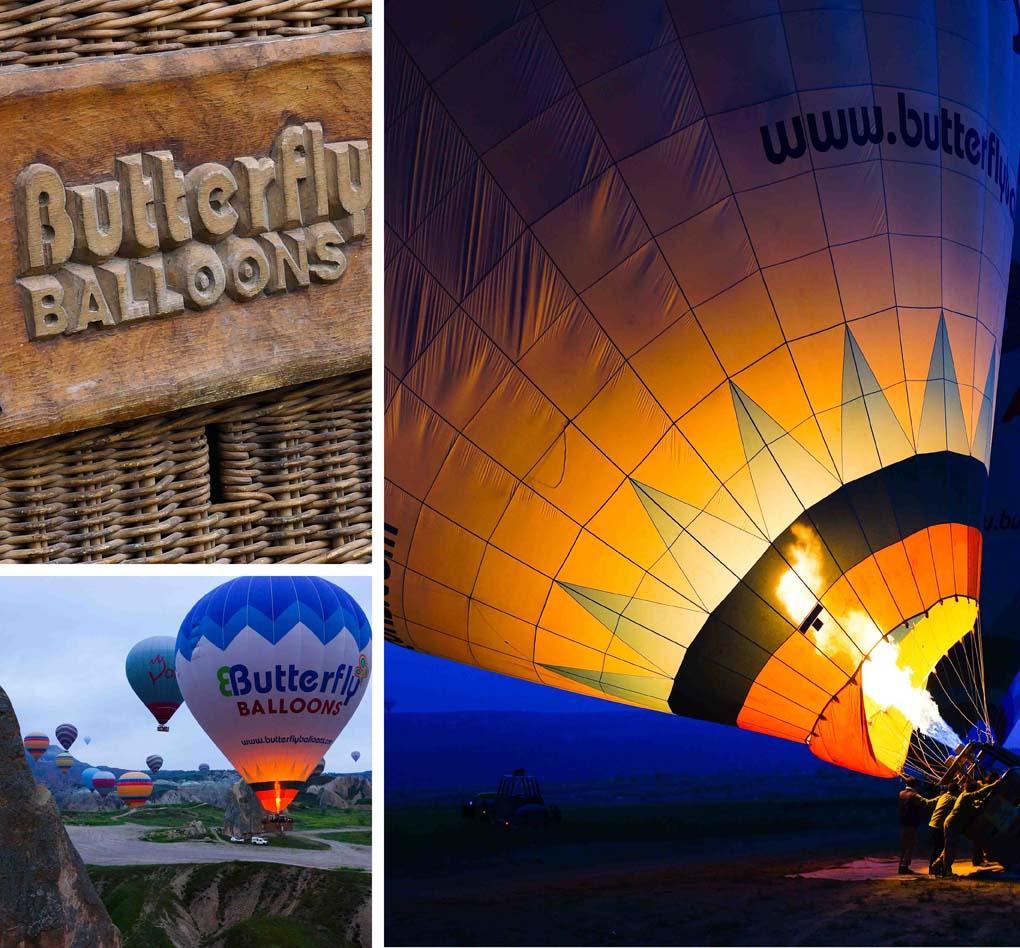 Ballonvaart Cappadocië