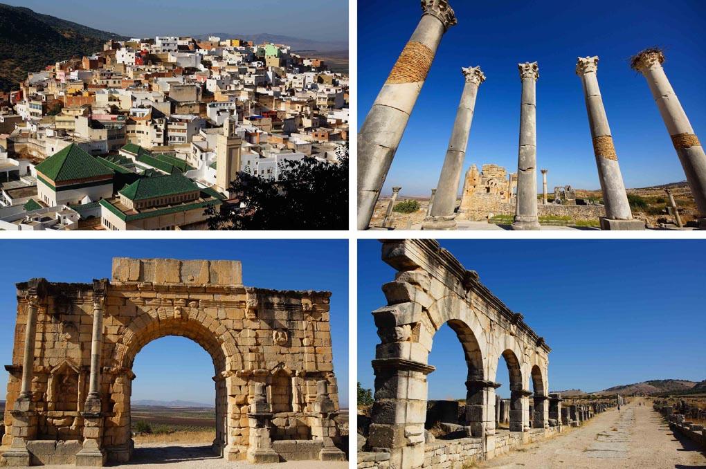 route Marokko